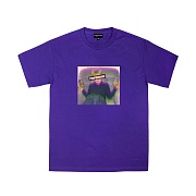 TRIPSHION ALCHOL CHILD T-SHIRTS - PURPLE