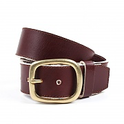 106# original heavy belt - brown