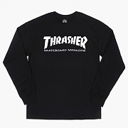 SKATE MAG LONG SLEEVE-BLACK