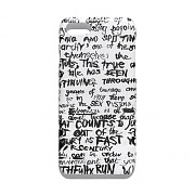 LETTER PHONE CASE GS [WHITE]