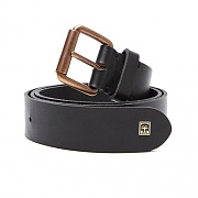 VANDAL LEATHER BELT-BLK
