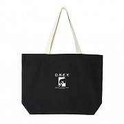 WAKE UP CONSUME REPEAT TOTE BAGS-BLK