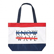 BEACH TOTE BAG-RED/WHT/BLU