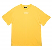 LINE LOGO TOUR 1/2 TEE YELLOW