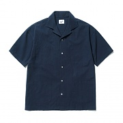 4pocket Open Collar Shirts Navy