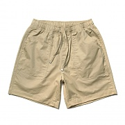 Cotton Half Pants Beige