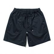 Cotton Half Pants Navy