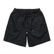 Cotton Half Pants Black