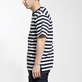 Lon 1:1 Stripe 1/2 T - NAVY