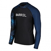 ODD RASHGUARD MEN-BLACK-JUNGLE NIGHT-NAVY