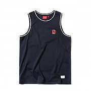 C LOGO SLEEVELESS (NAVY)_CTOEUSV02UN0