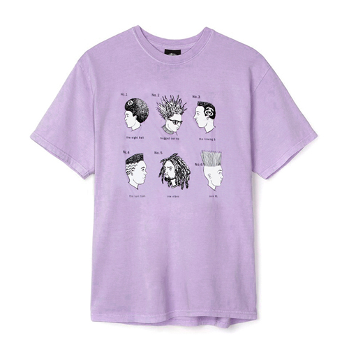 CUTS TEE-L.PURPLE