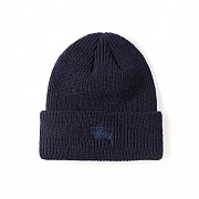 SMOOTH STOCK BEANIE-NAVY