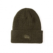 SMOOTH STOCK BEANIE-OLIVE