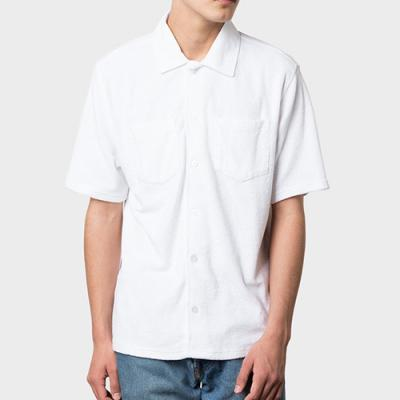 REVERSE TERRY SHIRT-WHT