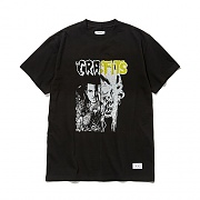 GSVT70-RECONSTRUCTED T-SHIRTS GS [BLACK]