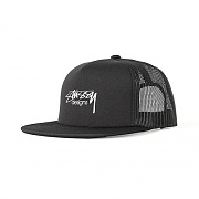 SMOOTH STOCK TRUCKER CAP-BLK
