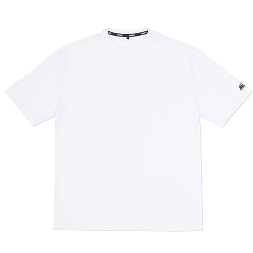 Basically a Waffle T-Shirt-White