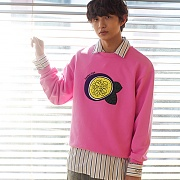 PASSION FRUIT SWEATSHIRT PINK