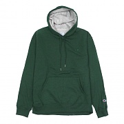 (S0889) POWERBLEND FLEECE PO HOOD-DARK GREEN