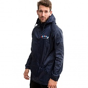 KNOCK-OFF PULLOVER ANORAK-NAVY