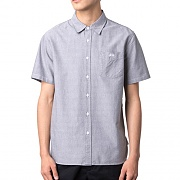 CLASSIC OXFORD S/S SHIRT-BLK