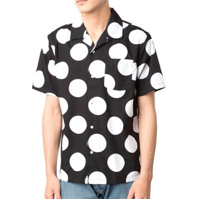 BIG DOT SHIRT-BLK