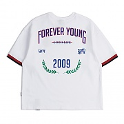 FOREVER YOUNG T SHIRT_WHITE