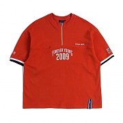 2009 ZIP UP T SHIRT_ORANGE