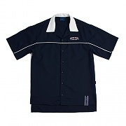 FOREVER YOUNG BOWLING SHIRT_NAVY