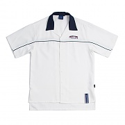 FOREVER YOUNG BOWLING SHIRT_WHITE