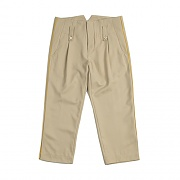 PIPING CAPRI PANTS_BEIGE