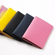 Leather Folded Card Case YS3002 /3 COLOR