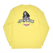 Trash Me L/S Tee-Yellow