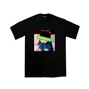 TRIPSHION ANXIETY GIRL T-SHIRTS - BLACK