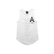 LONG TANK TOP (WHITE)