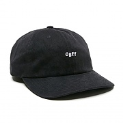 (100580074)CUTTY 6 PANEL SNAPBACK-BLK