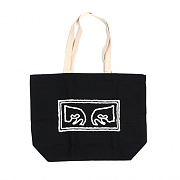 (100551573)OBEY EYES TOTE BAG-BLK