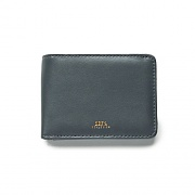 (100310070)GENTRY BI-FOLD WALLET-GREY