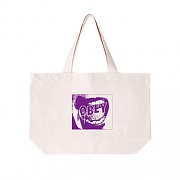 (100551568)SCREAMER TOTE BAG-NATURAL