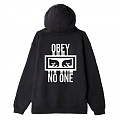 (111731559)NO ONE PULLOVER HOOD-BLACK