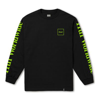 DOMESTIC LS TEE-BLK