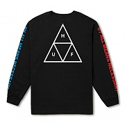 MULTI TRIPLE TRIANGLE LS TEE-BLK