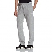 POWERBLEND FLEECE OPEN BTTM PANT-OGREY(806)