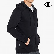 TECH FLEECE FULL ZIP HOOD-BLACK/STEALTH