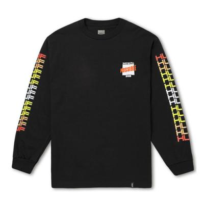 POSSIBLE LS TEE-BLK