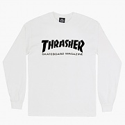 SKATE MAG LONG SLEEVE-WHT