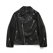 (Unisex) Buffing Leather Rider Jacket