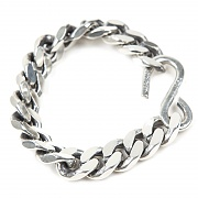 #124 92.5 1952 HEAVY CHAIN BRACELET