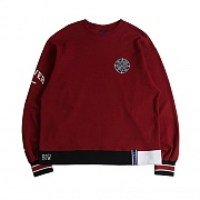 FOREVER YOUNG SWEAT SHIRT_BURGUNDY